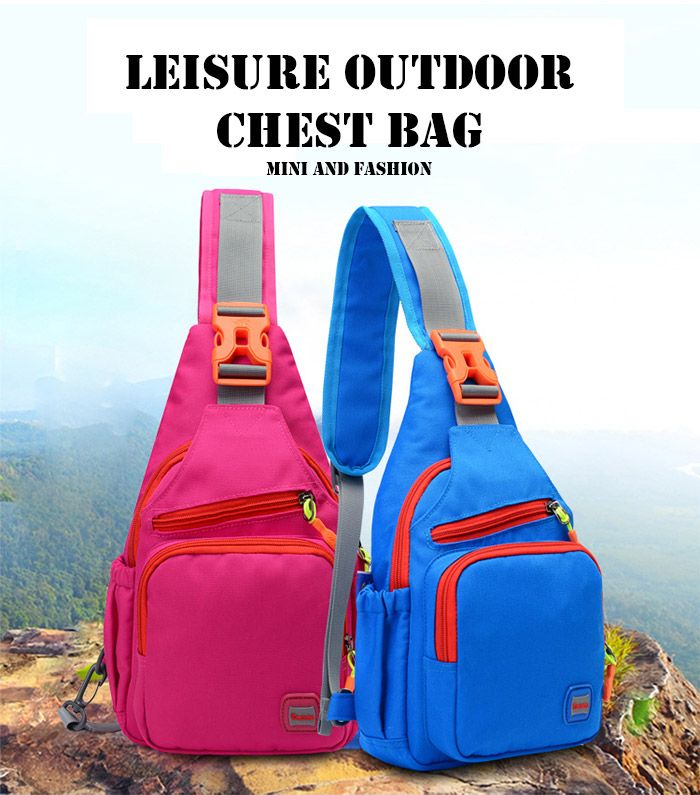 Outdoor Waterproof Multipurpose Chest Bag
