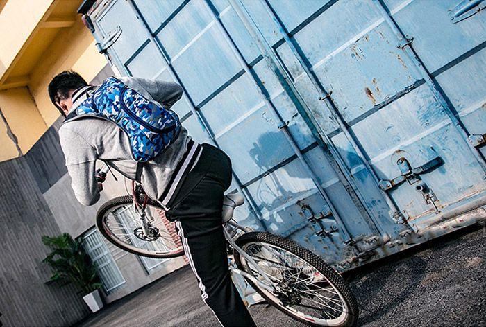 Outdoor Nylon Waterproof Camouflage Backpack