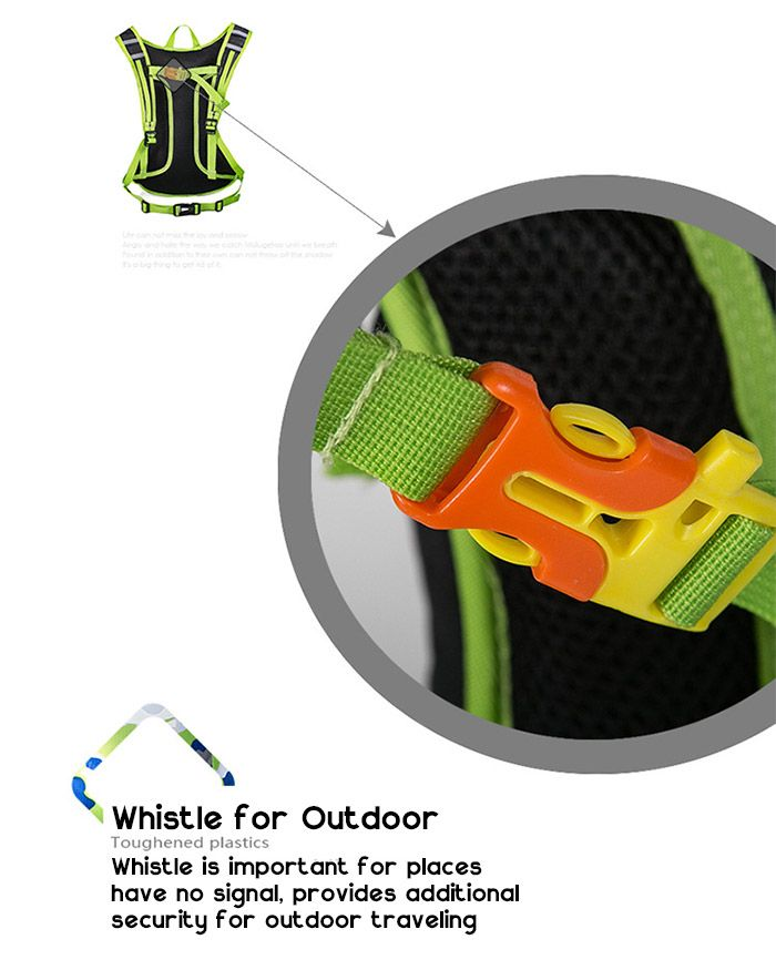 Outdoor Nylon Waterproof Arrow Pattern Backpack