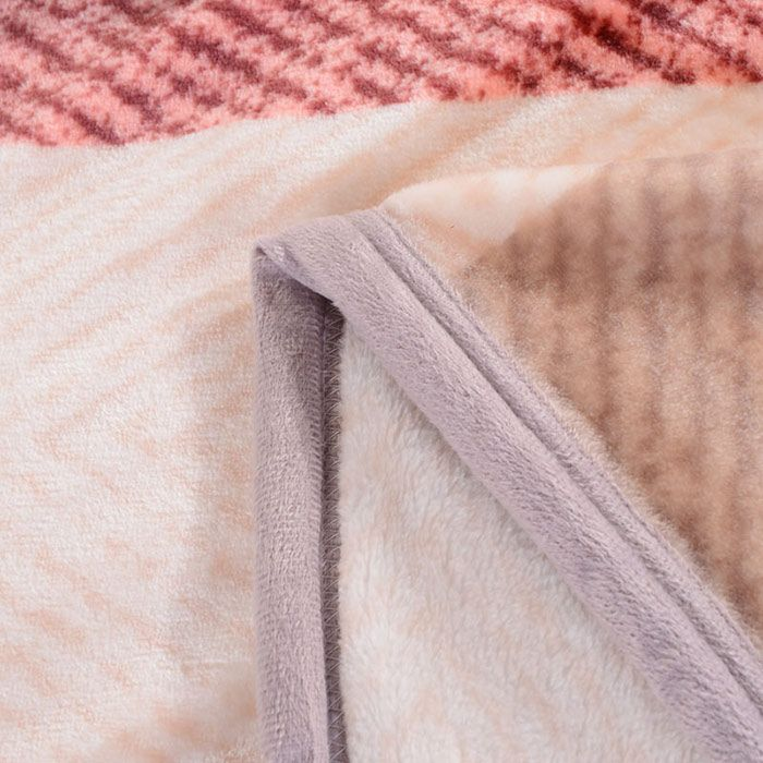 Plaid Print Super Soft Sofa Nap Throw Blanket