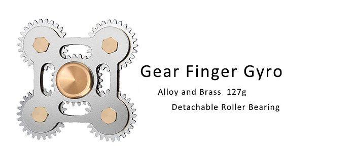 Stress Relief Toy Fingertip Gears Fidget Spinner