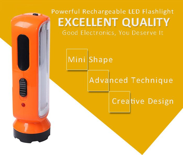Outdoor Multifunctional LED Rechargeable Flashlight