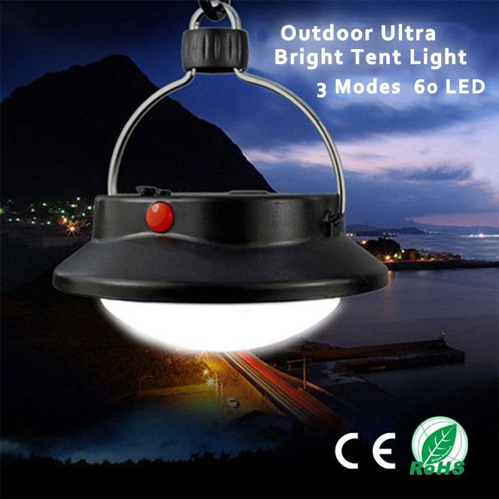 Portable 60 LED Hanging Up Camping Lamp