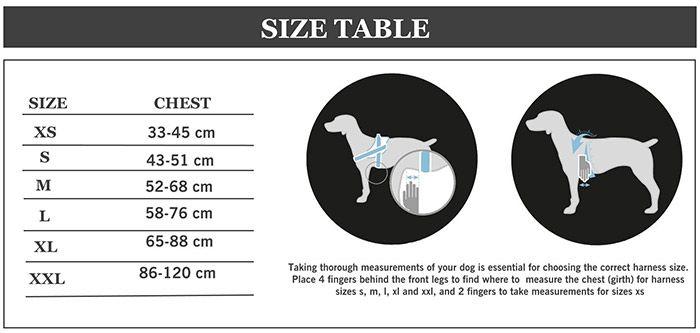 MODA DOG Harness Vest Luminated Patch Nylon Cloth Pet Chest Straps