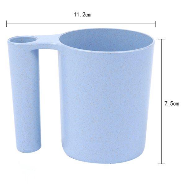 Wheat Straw Wash Gargle Tooth Mug Toothbrush Cup