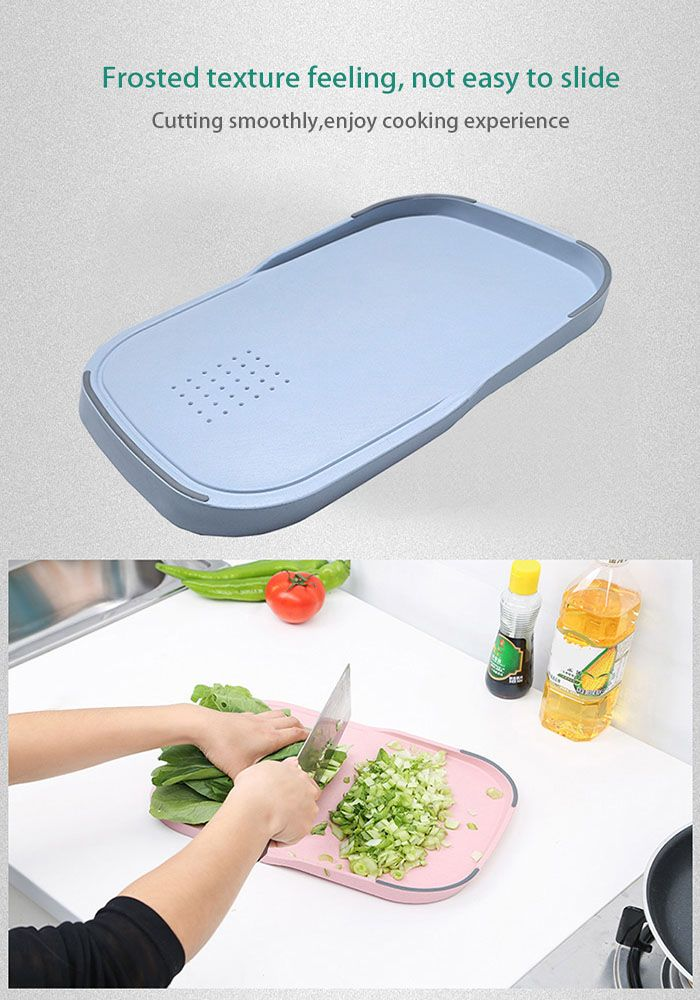 Wheat Straw Food Vegetables Material Cutting Board