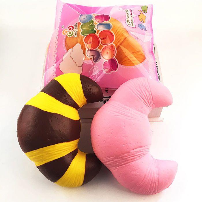 Decompression Croissant Shape Squishy Toy