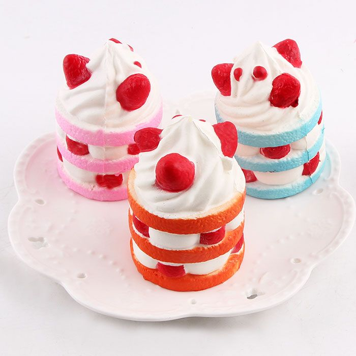 Anti Stress Simulation Ice Cream Squishy Toy
