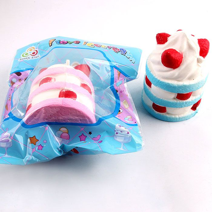 Anti Stress Simulation Ice Cream Squishy Toy
