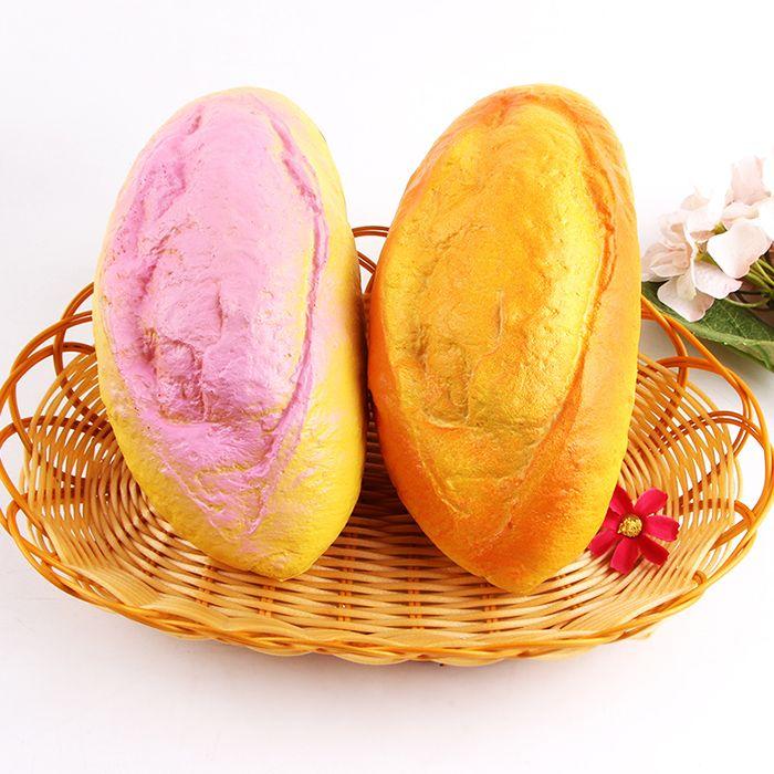 Decompression PU Simulation Coconut Milk Bread Squishy Toy