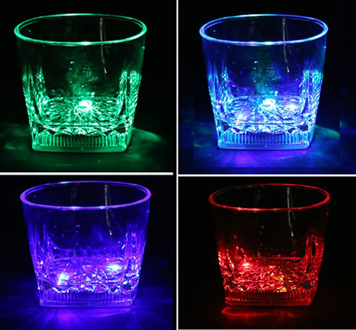 Inductive Rainbow Color Changing LED Flash Cup