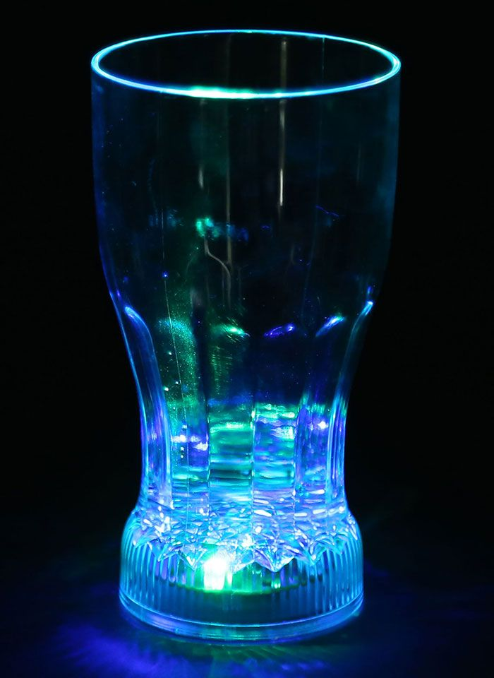LED Magic Inductive Rainbow Color 360ml Coke Cup