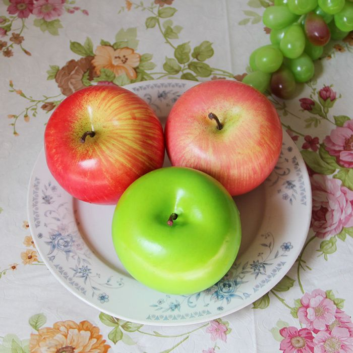 Artificial Foam Decorative Fruit Simulation Apple