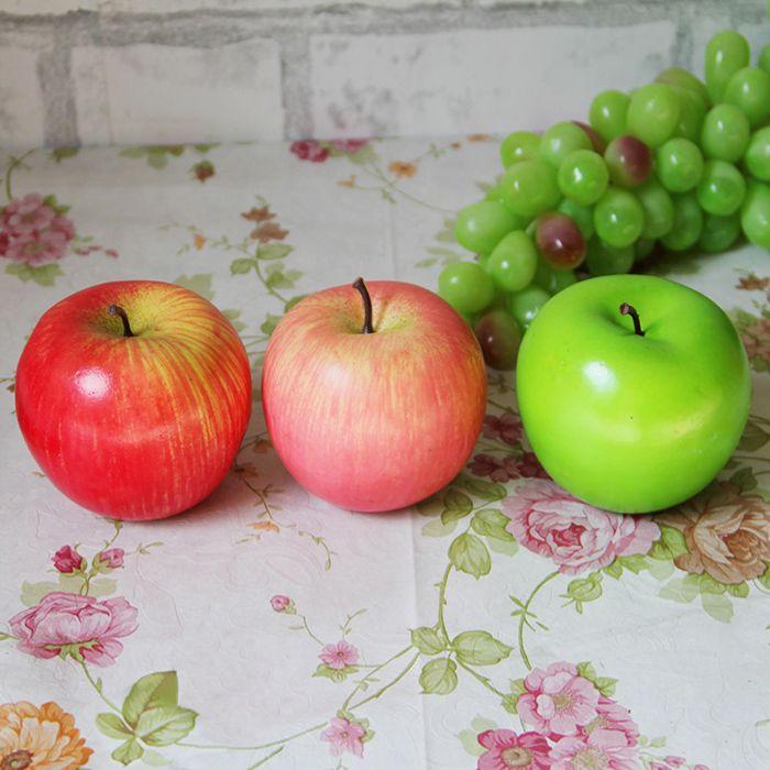 Artificial Foam Decorative Fruit Simulation Apple