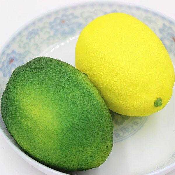 Anti Stress Simulated Lemon Shape Squishy Toy