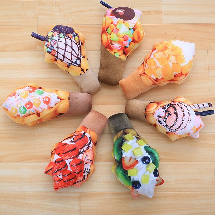 Simulation Food Ice Cream Throw Pillow Squishy Toy