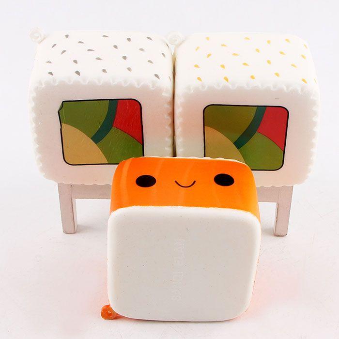Cartoon Squishy Sushi Slow Rising Toy