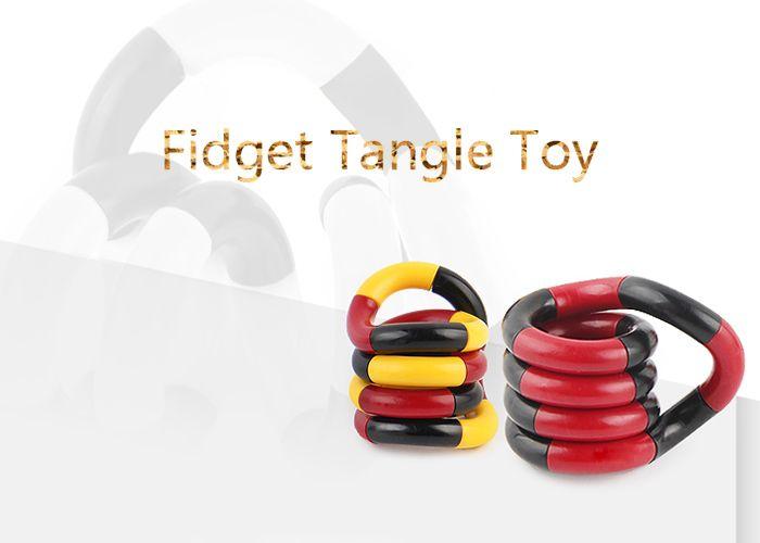 Stress Reliever Fidget Twist Tangle Toy