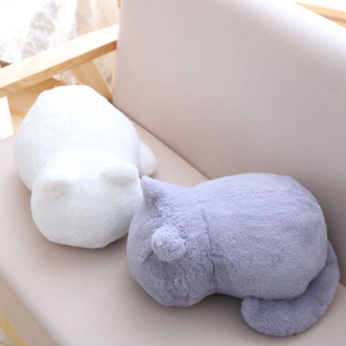 Stuffed Toys Cat Back Birthday Gift Cushion Throw Pillow