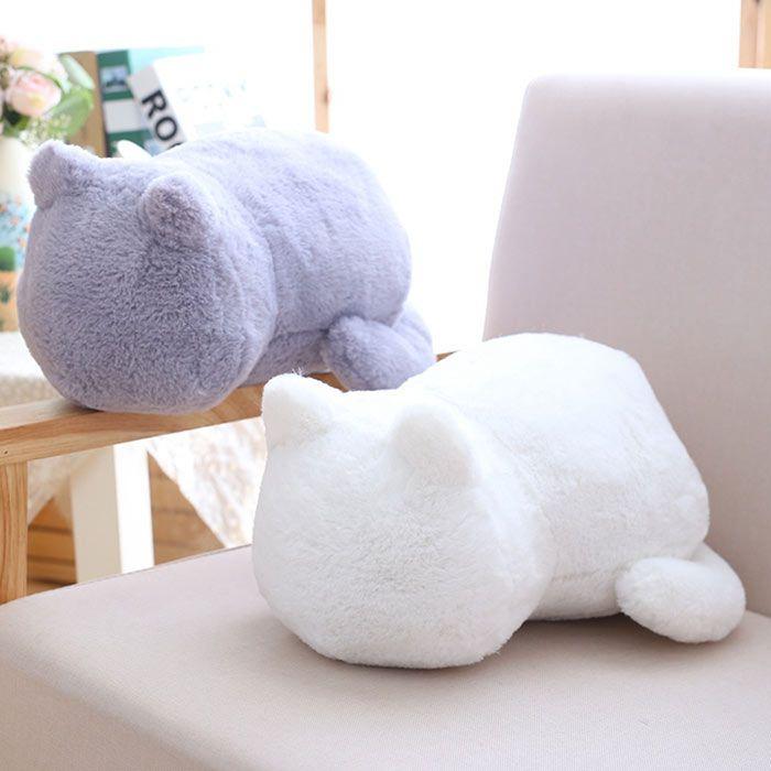 Stuffed Toys Cat Back Birthday Gift Cushion Throw Pillow