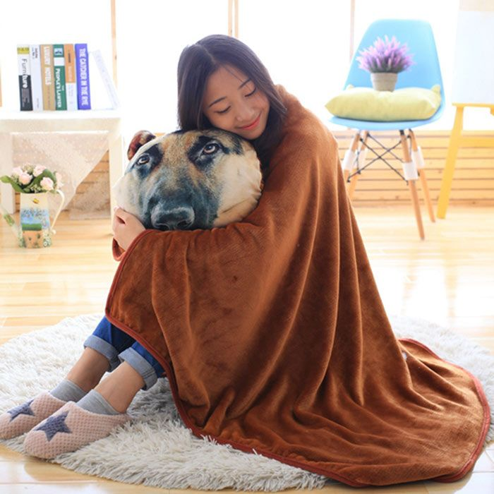 Multipurpose Conditioning Animal Throw Blanket