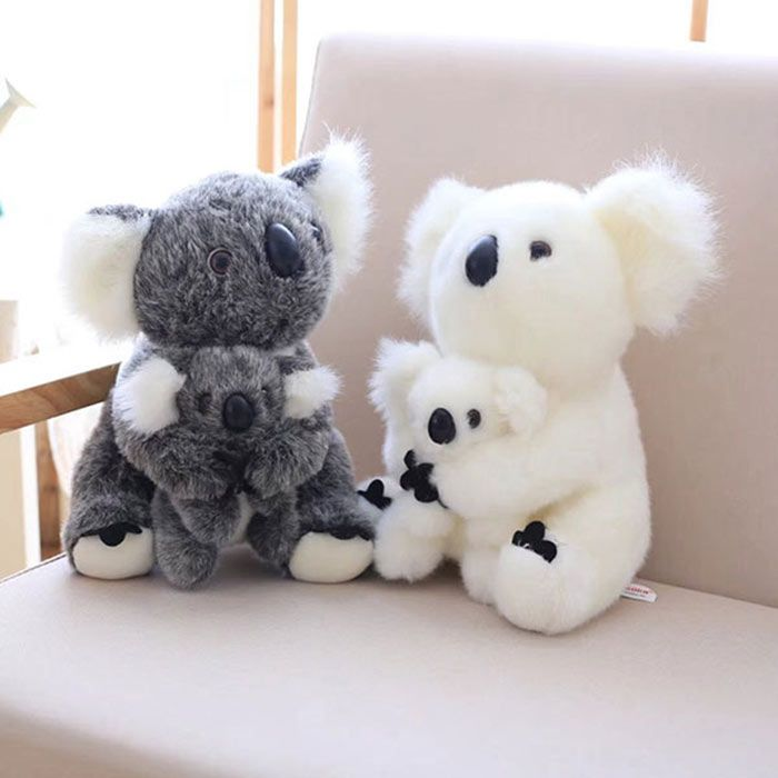 Koala Mother and Baby Stuffed Animal Simulation Toy