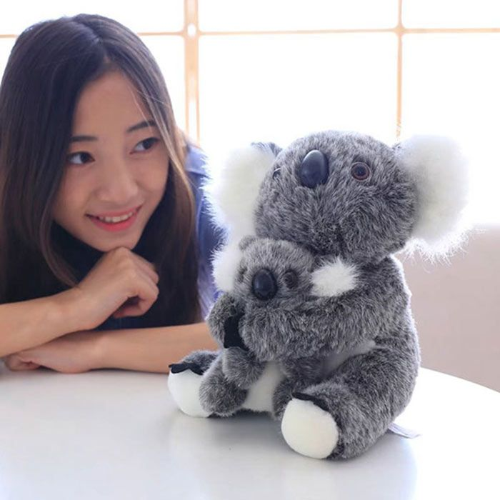 Koala Mother and Baby Stuffed Animal Simulation Toy