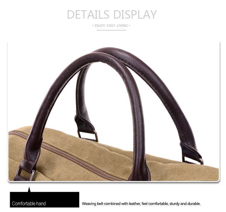 Canvas Travel Bag
