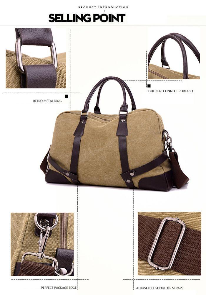 Canvas Travel Bag