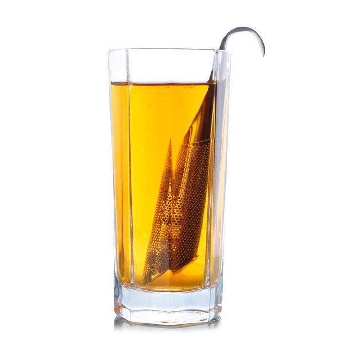 Stainless Steel Pipe Shape Tea Strainer Filter