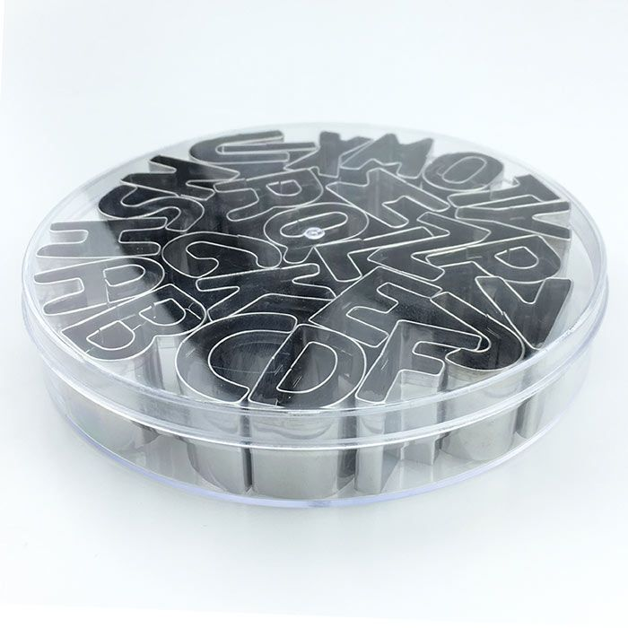 26 English Alphabet Cookie Mold Set Baking Tools