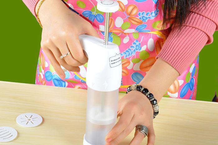 Cookie Gun Cutter Mold Nozzle Baking Tools Set
