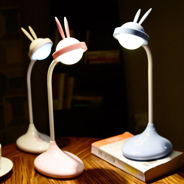Rabbit Rechargeable LED Touch Desk Light