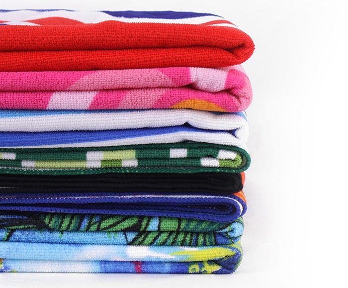 Striped Pattern Rectangle Bath Towel