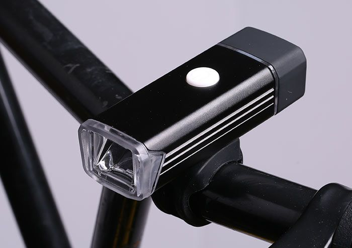 Outdoor Sport USB Rechargeable Aluminum Bicycle Light