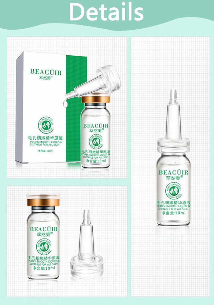 10ml*1pc Skin Repair Shrink Pores Essence Liquid