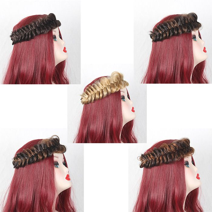 Colormix Large Braided Headband