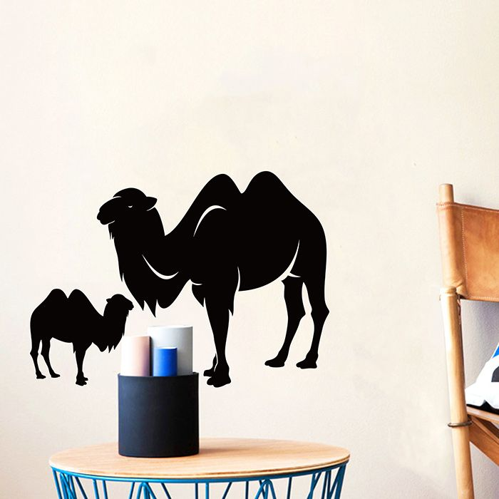 Camel Animal Vinyl Bedroom Wall Sticker