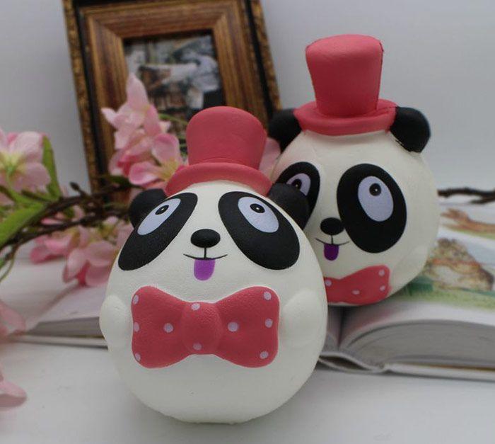 PU Slow Rebound Simulation Panda Squishy Toy