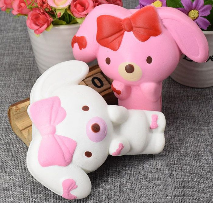 Simulation Nurse Rabbit PU Slow Rising Squishy Toy
