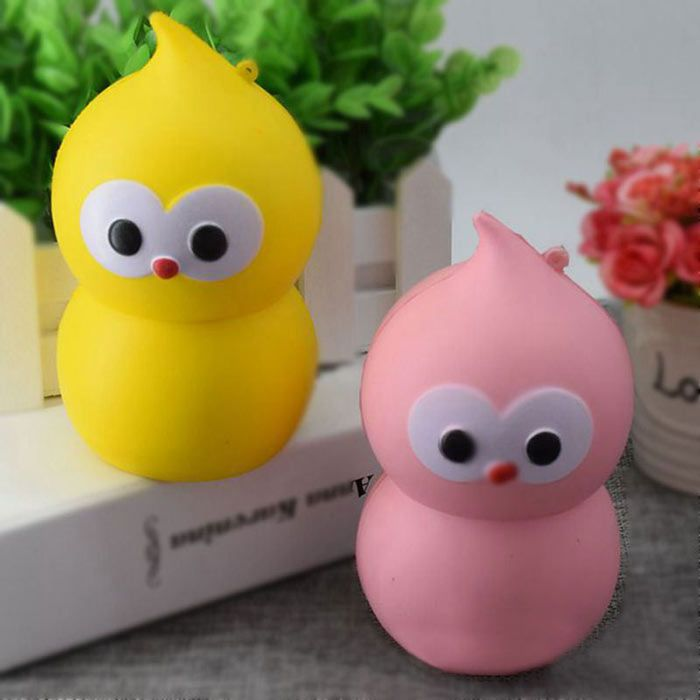 Simulation Lovely Gourd PU Slow Rising Squishy Toy