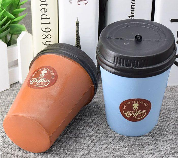 Simulation Coffee Cup PU Squishy Toy