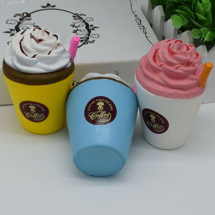 Squishy Stress Relief Toy PU Simulation Straw Cup