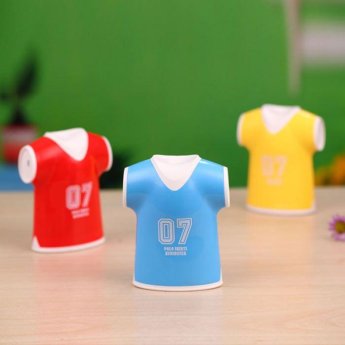Mini USB Polo Shirts Humidifier Air Purifier
