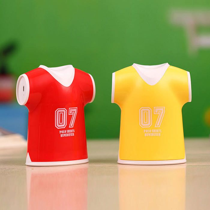 Mini USB Polo Shirts Humidifier Air Purifier
