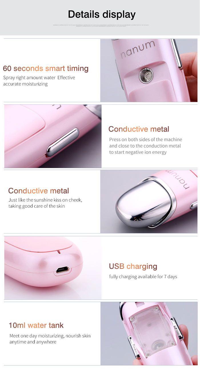 USB Smart Humidifying Moisturizing Massager