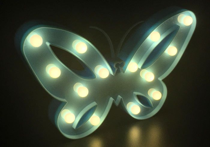 Marquee Butterfly LED Night Light
