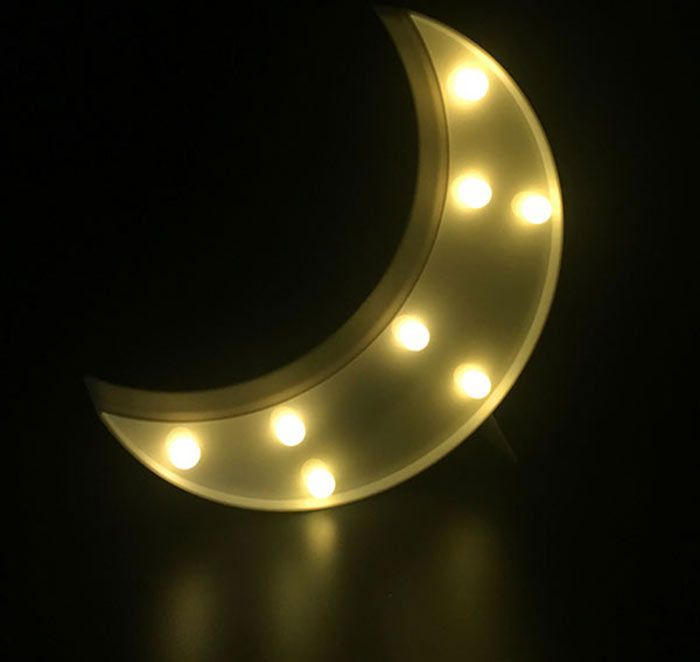 Moon Shape LED Table Night Light