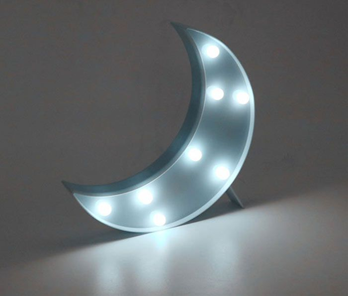 Moon Shape LED Table Night Light