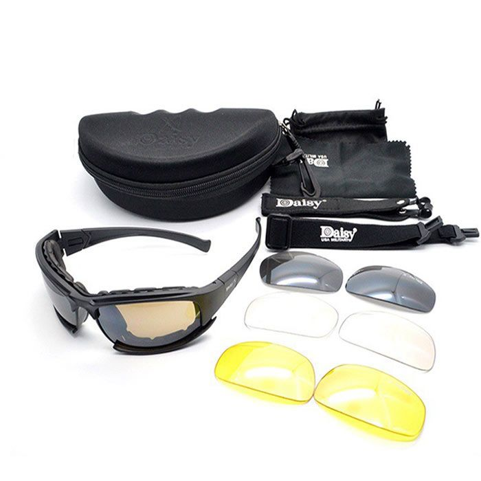 Outdoor Tactical Detachable Cycling Glasses